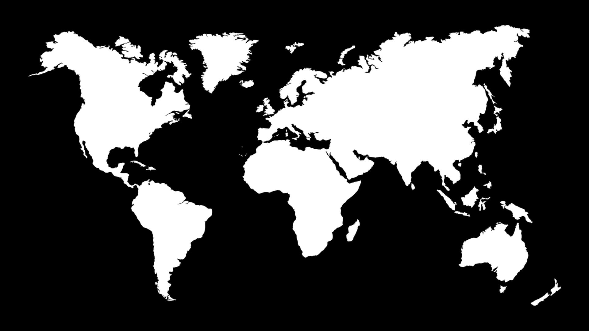 Welt in Schwarz/Weis